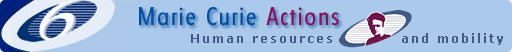 Marie Curie Actions Homepage